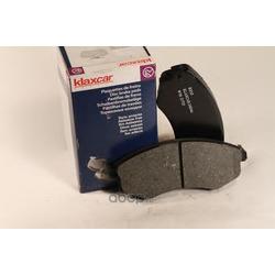 Комплект тормозных колодок, дисковый тормоз (Klaxcar) 24834Z