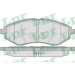Комплект тормозных колодок, дисковый тормоз (Lpr) 05P1080