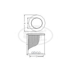 Воздушный фильтр (SCT) SB3263