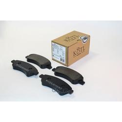 Колодки тормозные CITROEN C4 03-/PEUGEOT 307/PARTNER 1.4/1.6 -ESP передние (KOTL) 1463KT