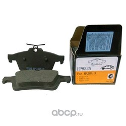 Колодки тормозные дисковые задние к-т (HSB) HP8225