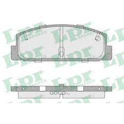 Комплект тормозных колодок, дисковый тормоз (Lpr) 05P336