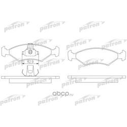 Колодки тормозные, комплект, передние (PATRON) PBP1081