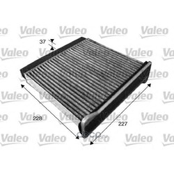 Фильтр, воздух во внутренном пространстве (Valeo) 715546