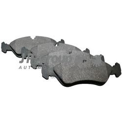 Колодки тормозные дисковые передние / OPEL Astra-F,Kadett-E,Vectra-A/B, Calibra, Omega A (JP Group) 1263600910