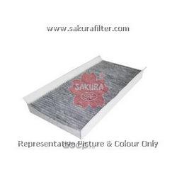 Фильтр салона угольный (Sakura) CAC26160