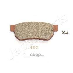 Комплект тормозных колодок, дисковый тормоз (Japanparts) PP402AF