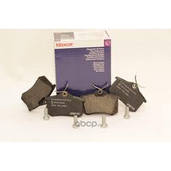 Комплект тормозных колодок, дисковый тормоз (Klaxcar) 24430Z