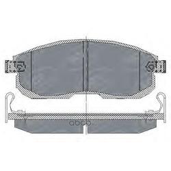 Колодки торм.FR (SCT) SP153