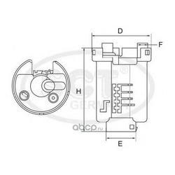 Топливный фильтр (SCT) ST392