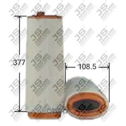 Фильтр воздушный (JS Asakashi) A0139