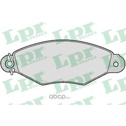 Комплект тормозных колодок, дисковый тормоз (Lpr) 05P661