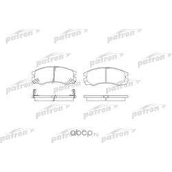 Колодки тормозные дисковые передние (PATRON) PBP1015