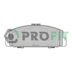 Комплект тормозных колодок (PROFIT) 50001721