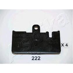Комплект тормозных колодок, дисковый тормоз (Ashika) 5102222