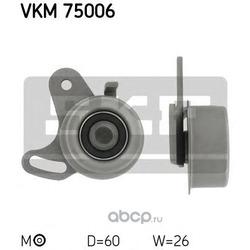 Натяжной ролик, ремень ГРМ (Skf) VKM75006