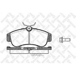 Комплект тормозных колодок (Stellox) 331000SX