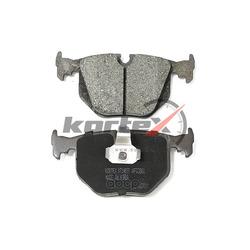 Колодки торм. BMW 7 E65/E66 / X6 II задн. к-т (KORTEX) KT1499T