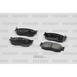 Колодки тормозные дисковые передн HYUNDAI: ACCENT 05-09 / KIA: RIO 06-09, PRIDE 05- (произведено в Корее) (PATRON) PBP1652KOR