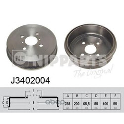 Тормозной барабан (Nipparts) J3402004
