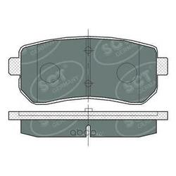 Колодки торм.RR (SCT) SP380