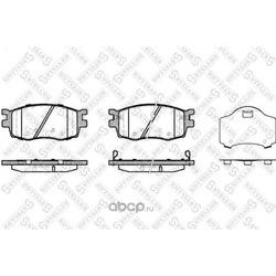 Комплект тормозных колодок (Stellox) 001086BSX