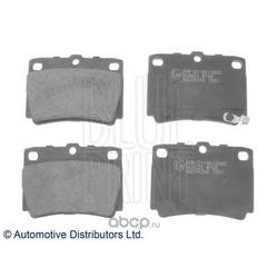 Комплект тормозных колодок, дисковый тормоз (Blue Print) ADC44248