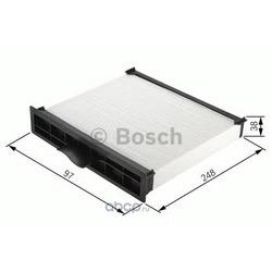 Фильтр, воздух во внутреннем пространстве (Bosch) 1987432160