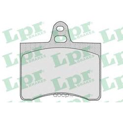 Комплект тормозных колодок, дисковый тормоз (Lpr) 05P800