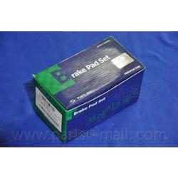 Комплект тормозных колодок (Parts-Mall) PKA029