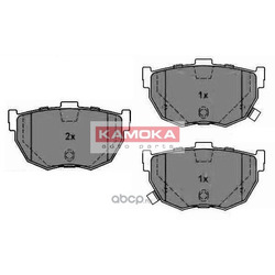 Комплект тормозных колодок, дисковый тормоз (KAMOKA) JQ1011276