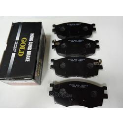 Колодки тормозные дисковые передние к-т (HSB) HP1034