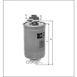 Топливный фильтр (Mahle/Knecht) KL75