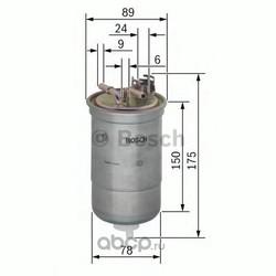 Топливный фильтр (Bosch) 0450906174