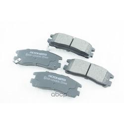 Дисковые тормозные колодки (Friction Master) MKD383