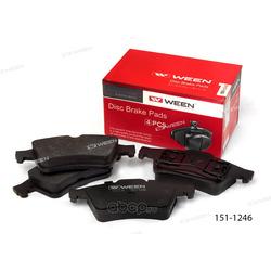 Колодки дисковые (Ween) 1511246