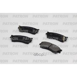 Колодки тормозные дисковые передн KIA: CARENS 99-02, CLARUS 96-00, RIO 02-05, SEPHIA 95-01, SHUMA 01-04 (произведено в Корее) (PATRON) PBP1602KOR