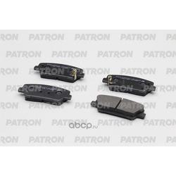 Колодки тормозные дисковые задн HYUNDAI: SANTA FE 10-, ELANTRA 10-, EQUUS 09-, GENESIS COUPE 08- / KIA: SORENTO 09- (произведено в Корее) (PATRON) PBP1663KOR
