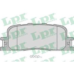 Комплект тормозных колодок, дисковый тормоз (Lpr) 05P1115