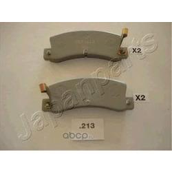 Колодки тормозные дисковые задние, комплект (Japanparts) PP213AF