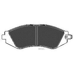 Комплект тормозных колодок, дисковый тормоз (Mapco) 6518