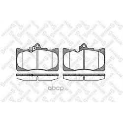 Комплект тормозных колодок (Stellox) 1191002SX