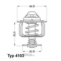 Термостат, охлаждающая жидкость (Wahler) 410382D