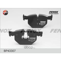 Комплект тормозных колодок, дисковый тормоз (FENOX) BP43307