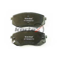 Комплект тормозных колодок, дисковый тормоз (KORTEX) KT3530STD