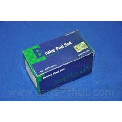 Комплект тормозных колодок (Parts-Mall) PKA028