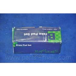 Комплект тормозных колодок (Parts-Mall) PKA015