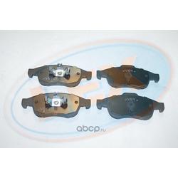 Колодки тормозные передние (Lex) 24914