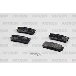 Колодки тормозные дисковые задн CHEVROLET: CAPTIVA 06-09 / OPEL: ANTARA 06-09 (произведено в Корее) (PATRON) PBP1527KOR