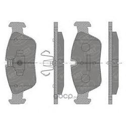Колодки торм.FR (SCT) SP433